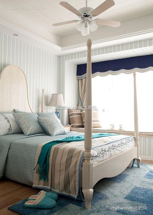 简欧卧室家装设计效果图片欣赏