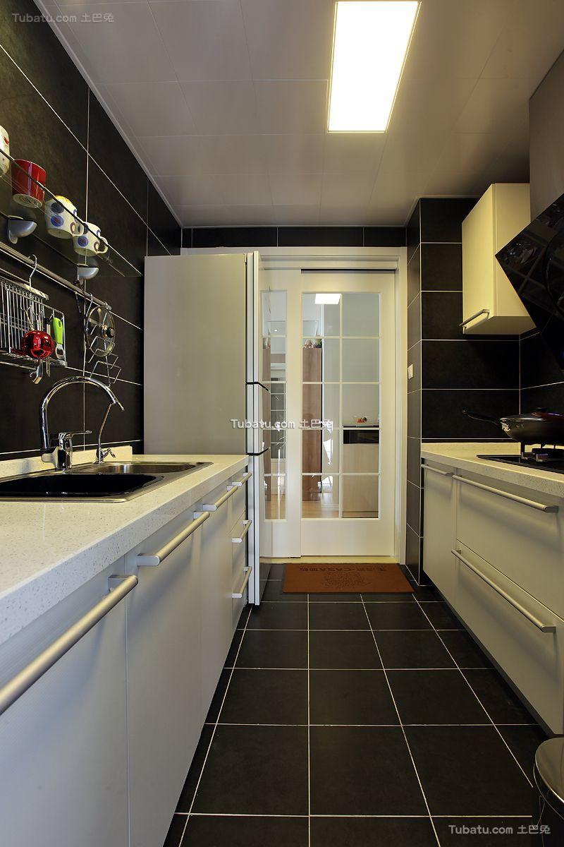 现代家居厨房设计装修效果图欣赏