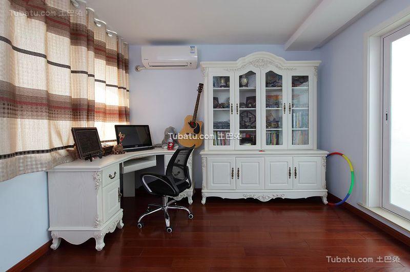简欧风格设计书房室内装修效果图片