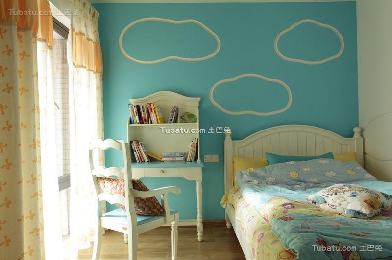 田园风格设计儿童房装饰效果图片