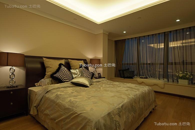 现代新中式卧室欣赏