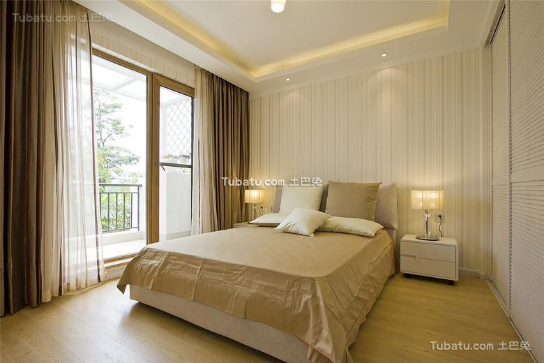 现代温馨简约卧室设计