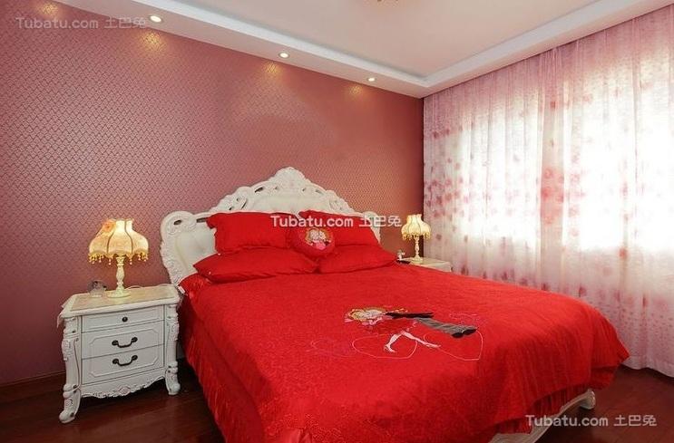 简欧风格设计卧室装饰效果图片