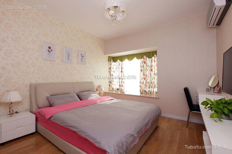 现代简约家居卧室设计装修效果图