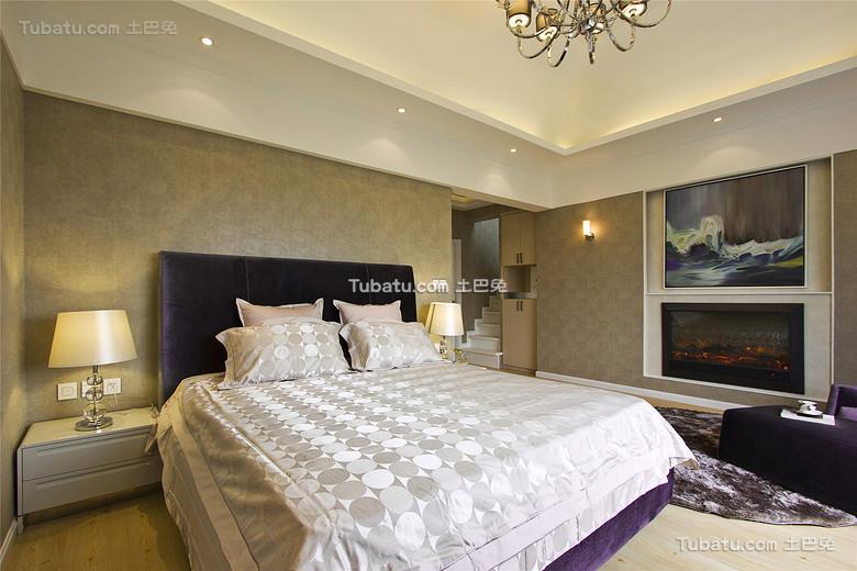 现代摩登卧室装饰设计