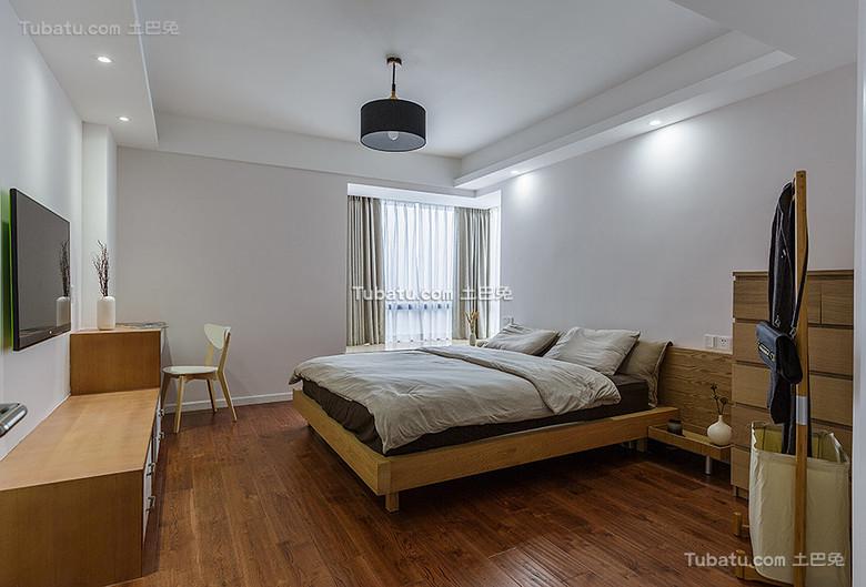 日式原木和风卧室设计