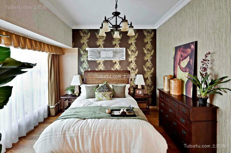欧式复古风格家居卧室设计装修图片