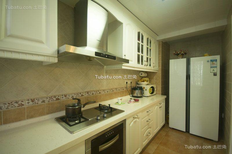 简约风格设计室内厨房装修案例图片