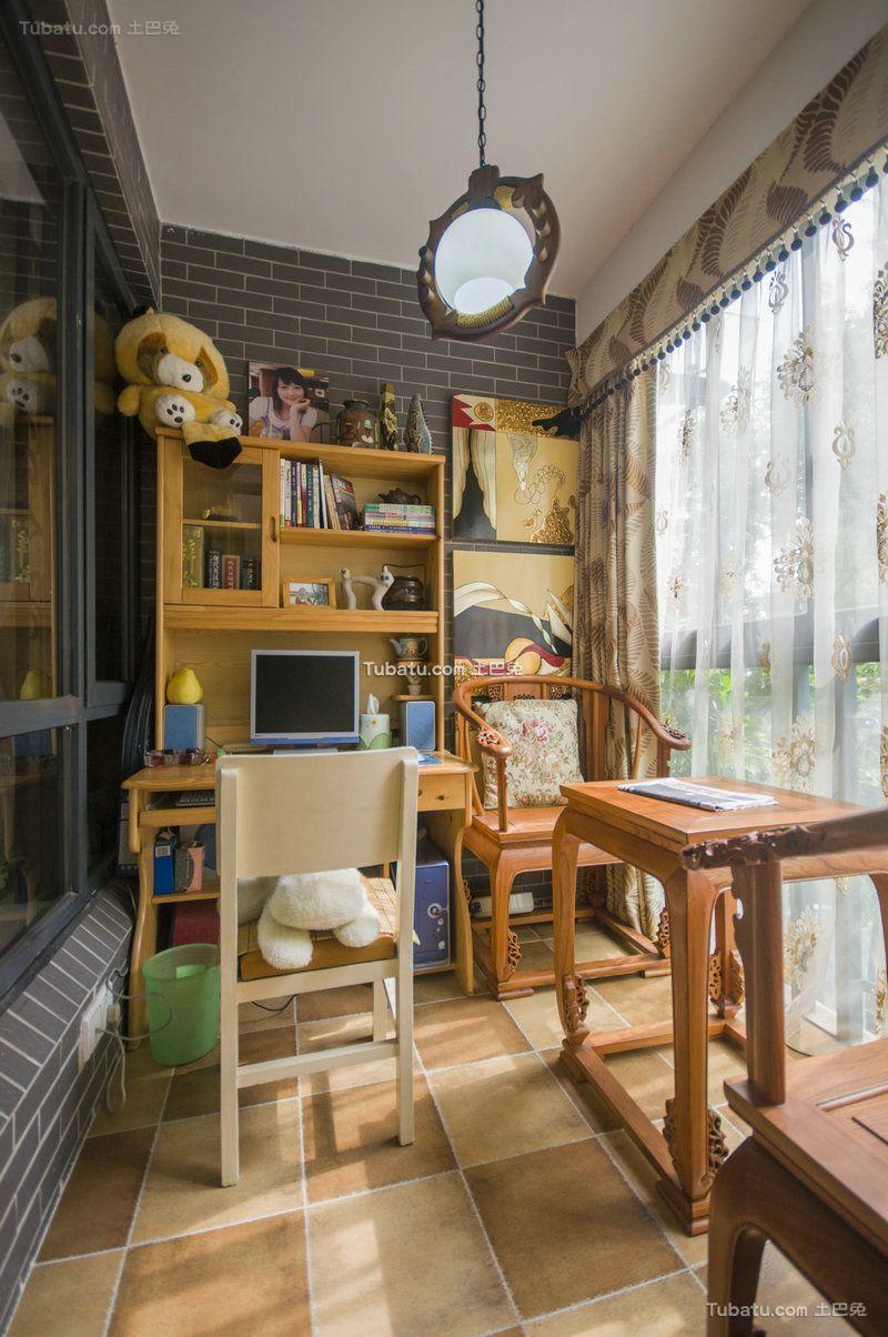 现代设计室内家居书房图片