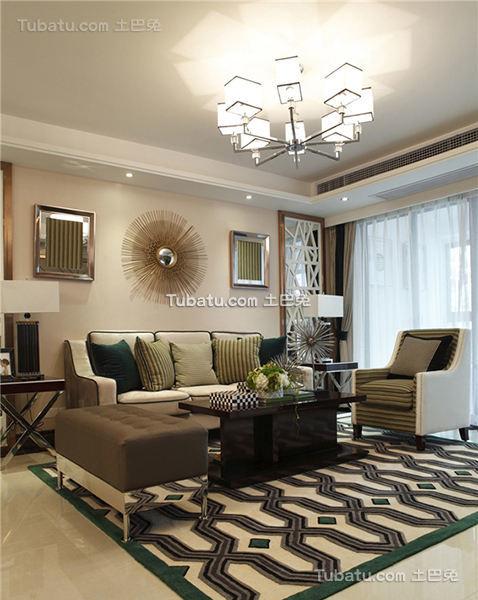 现代奢华混搭三居室