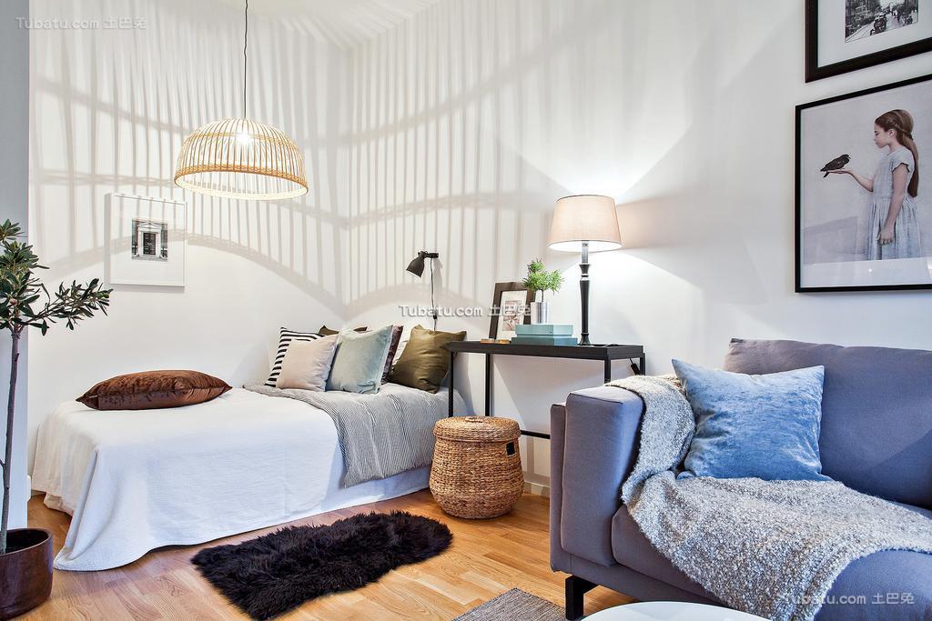 北欧小卧室装修大全