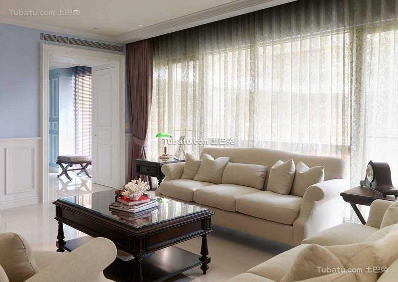 浪漫简美装修客厅