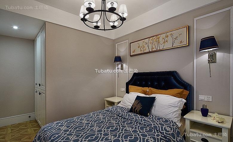 精美混搭美式卧室欣赏
