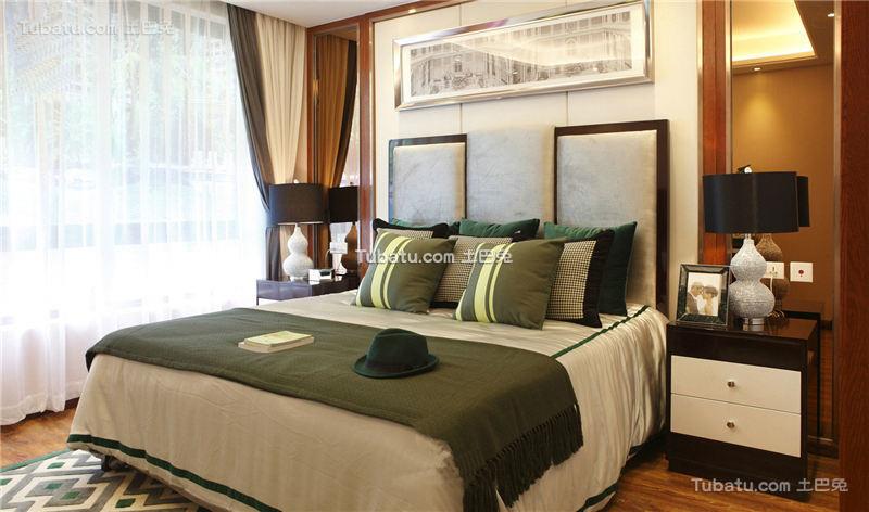 现代奢华混搭卧室