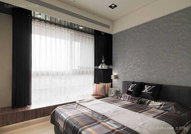 摩登现代卧室设计