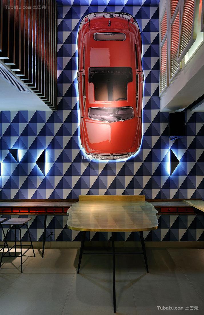 2018最新loft风格咖啡厅效果图
