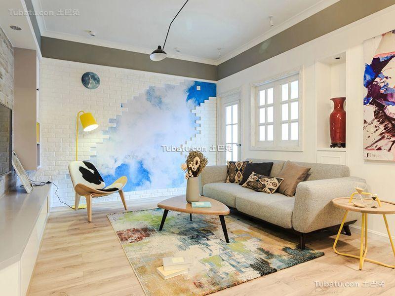 空灵北欧客厅装饰