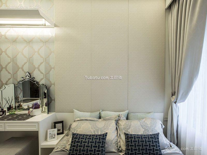 白色浪漫简约低奢卧室