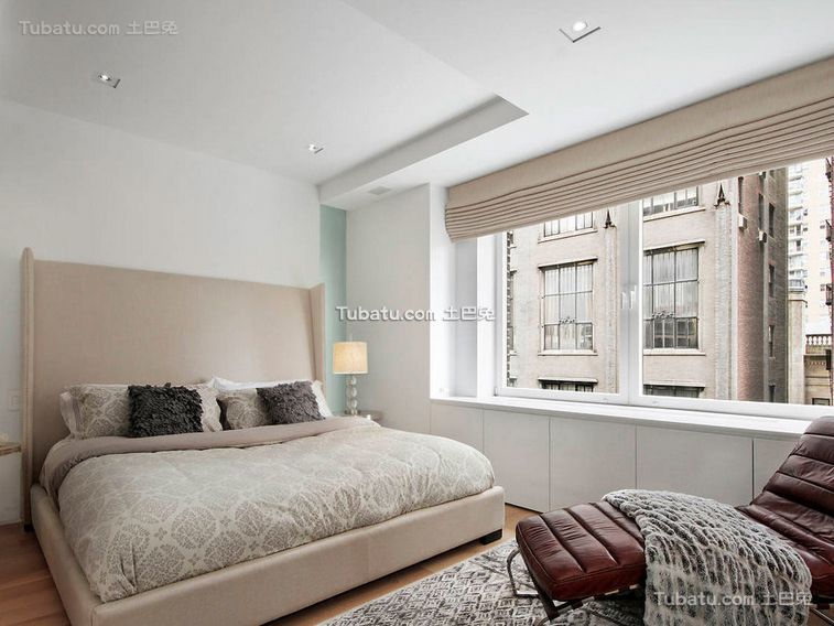 简约纯净空间卧室设计