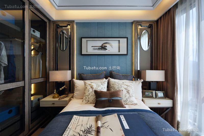 诗情画意新中式卧室装饰
