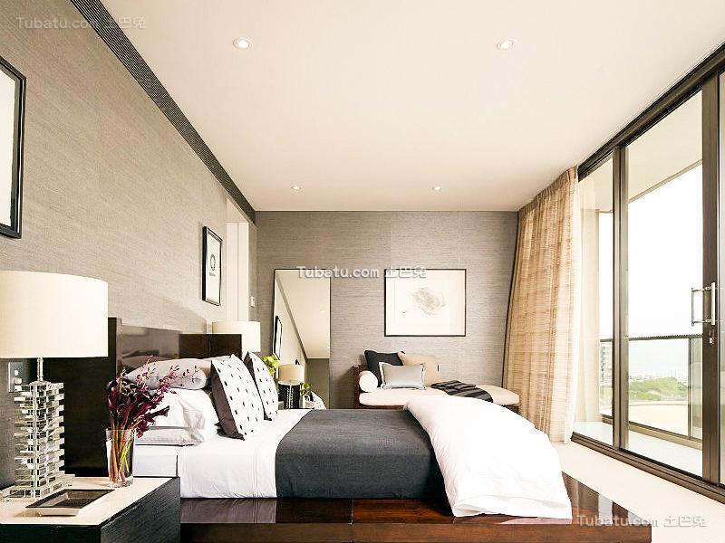 现代精美海景卧室装修