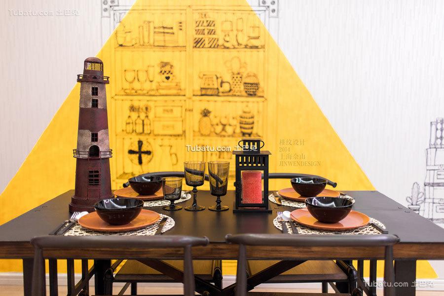 欧式温馨风格餐厅效果图片