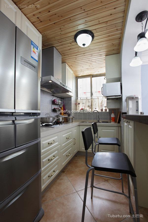 地中海小厨房设计