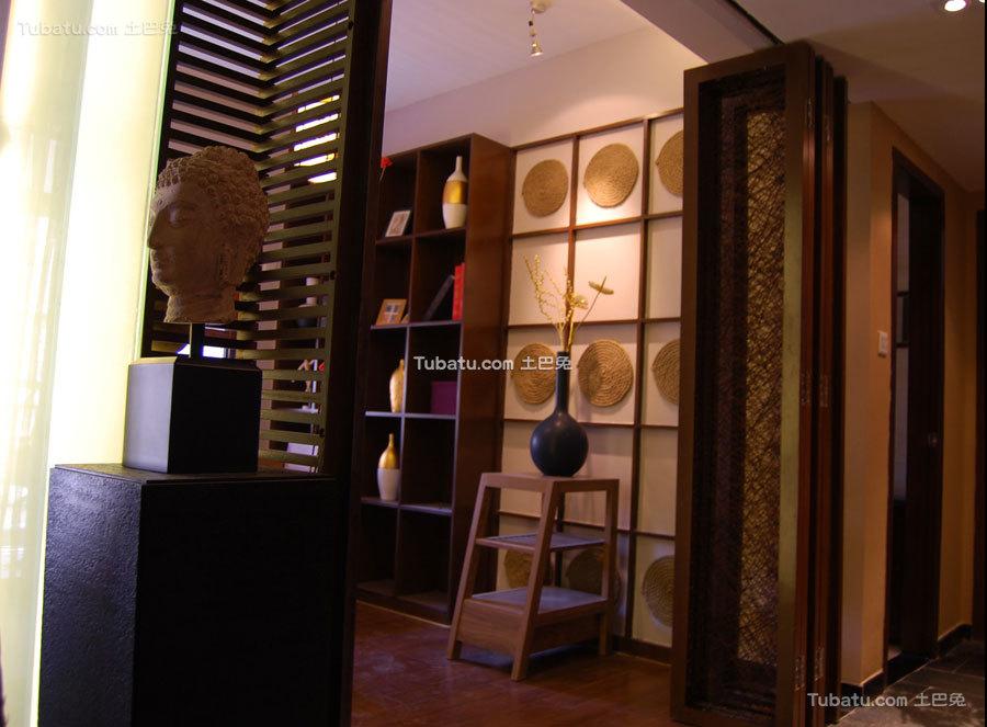 东南亚风格二居室内图片