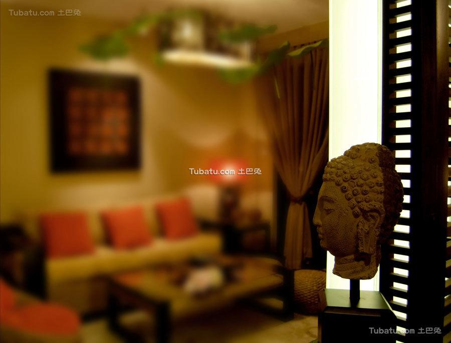 东南亚风格二居客厅