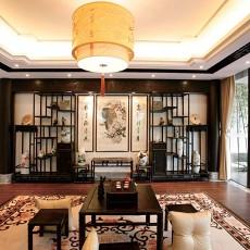传统中式客厅设计图