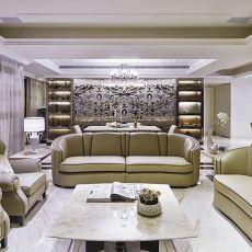 时尚的新古典客厅效果图