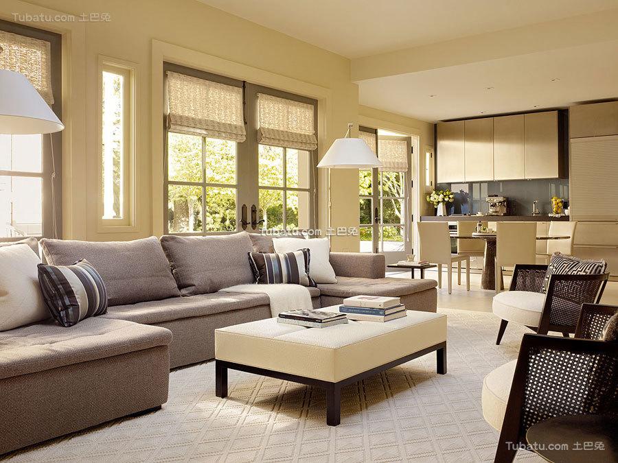 三居室客厅设计图
