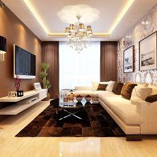浪漫欧式家装客厅效果图