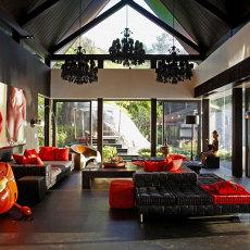 迷人风情东南亚风格客厅图