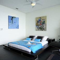 迷人风情东南亚风格卧室效果图