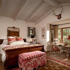 浪漫地中海风格卧室效果图
