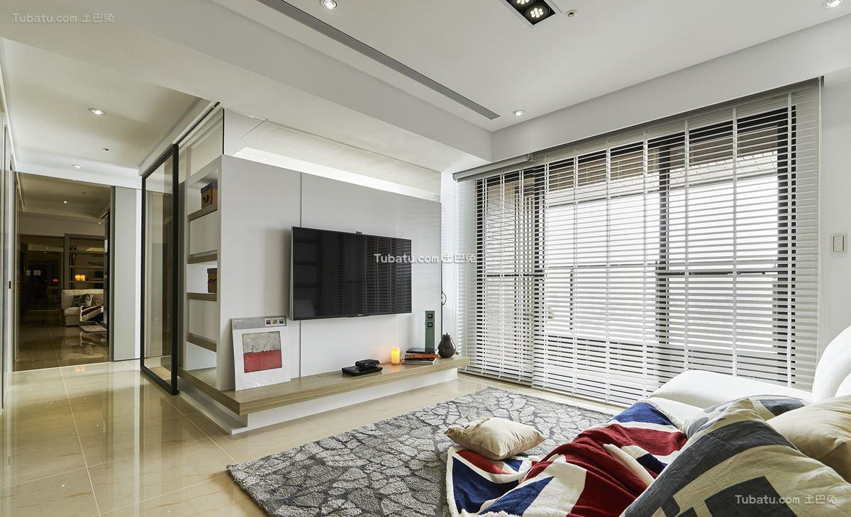 轻美式北欧风格家装窗户效果图