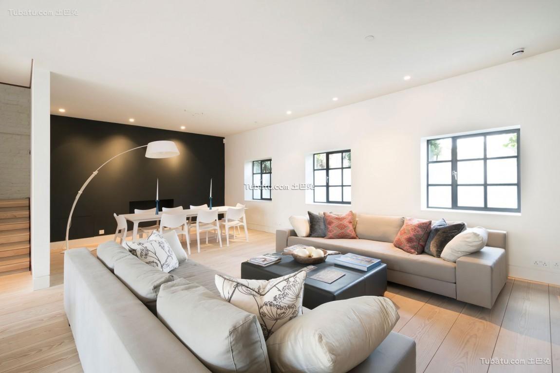 气派美式风格家装客厅效果图