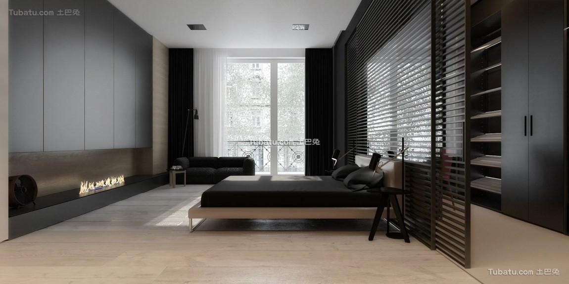 最前卫的现代风格家装卧室效果图
