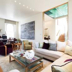 豪华别墅的美式家装效果图