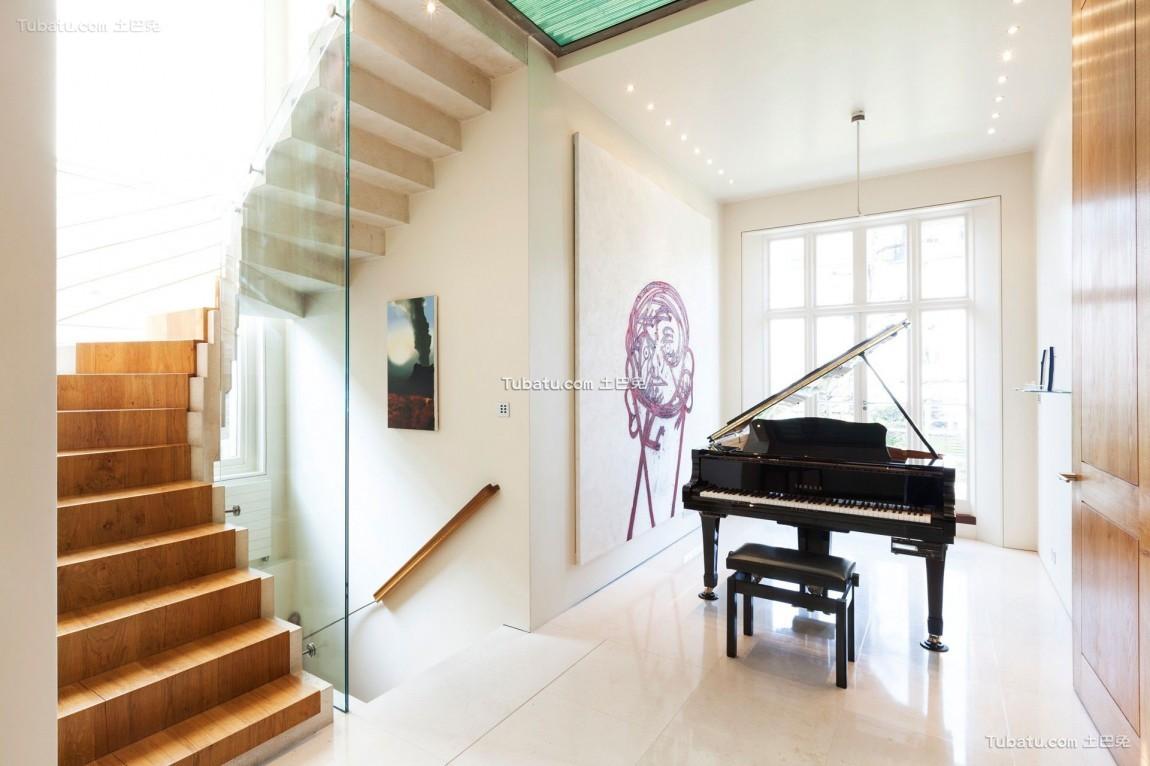 豪华别墅的美式家装休闲区效果图