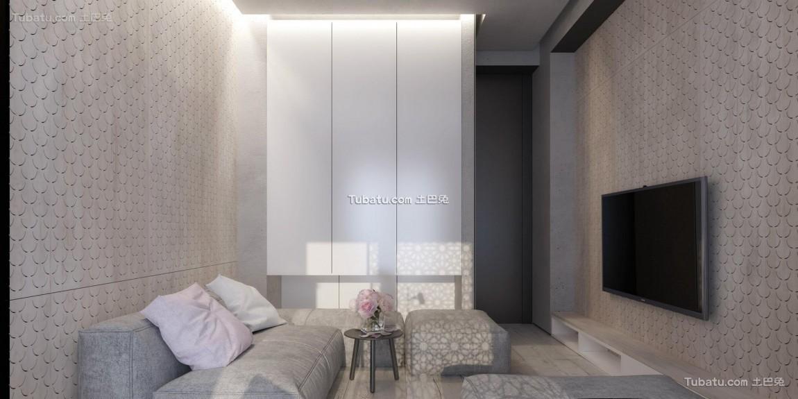 最前卫的现代风格家装背景墙效果图