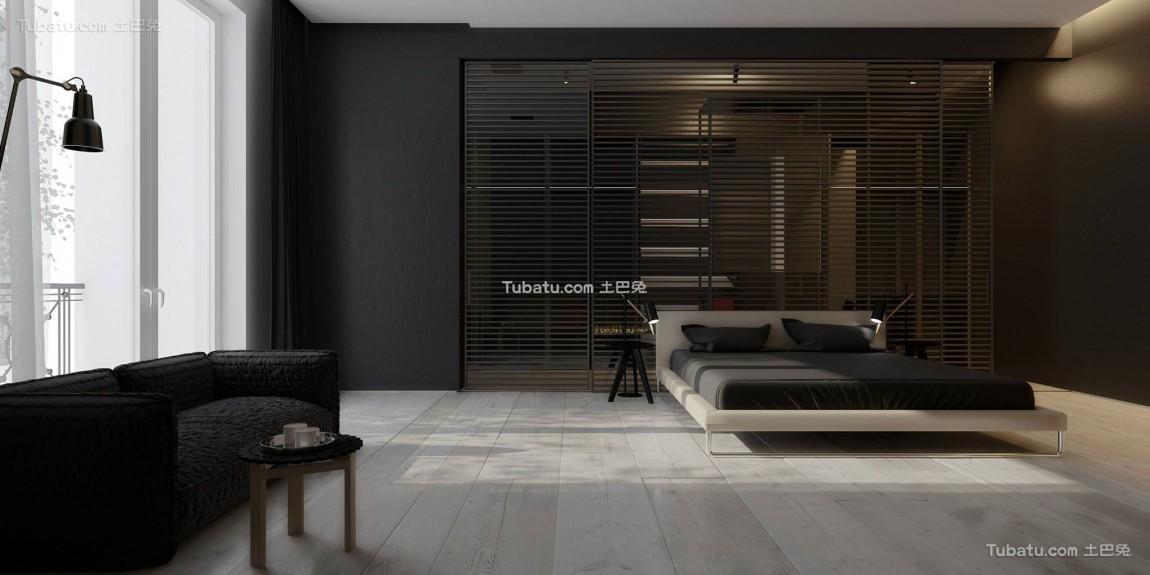 最前卫的现代风格家装卧室图