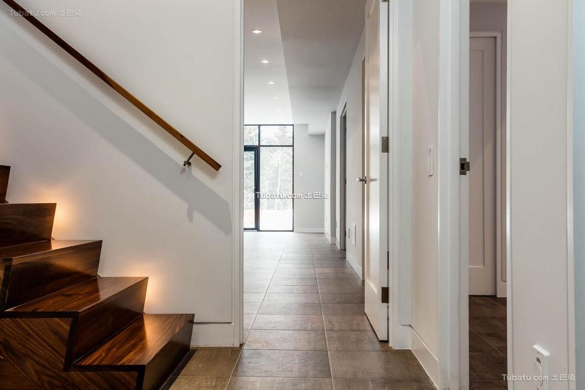 高雅复式家装楼梯效果图