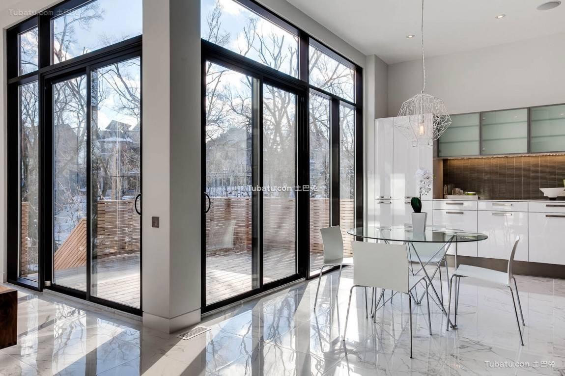 高雅复式家装窗户效果图