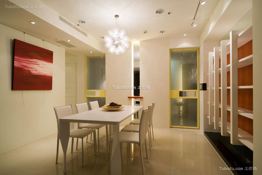 温馨一居室家装餐厅效果图