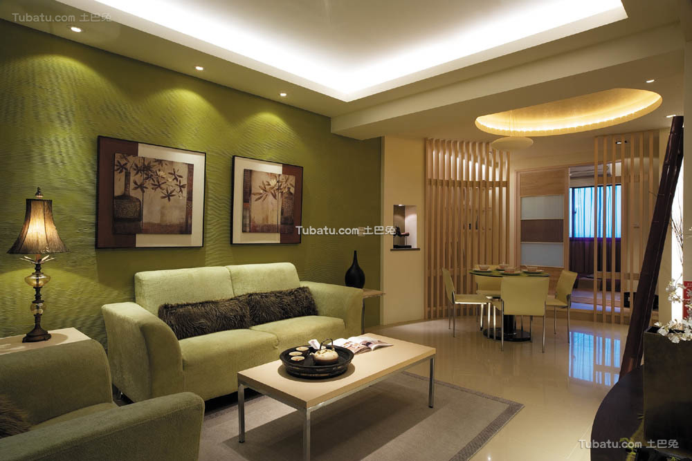 简单复式家装客厅图