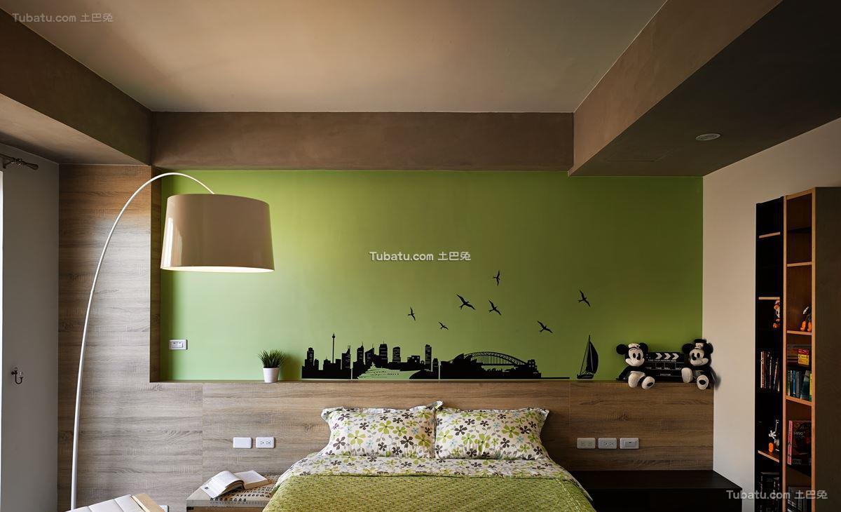 前卫小户型家装卧室效果图