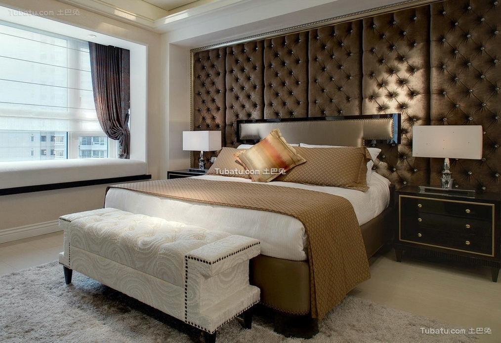 富丽堂皇的欧式家装次卧效果图