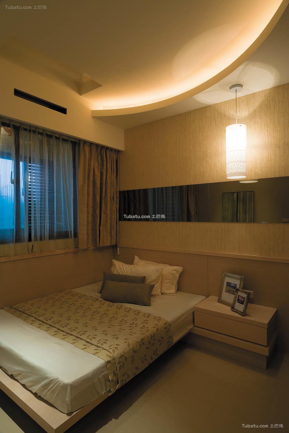 简单复式家装卧室效果图
